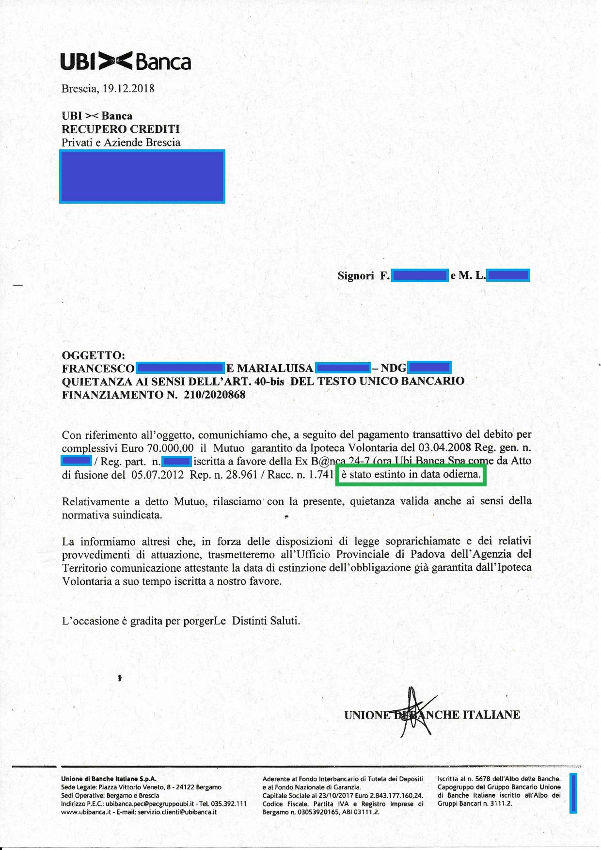 Estinzione debito UBI Mestr_page-0001