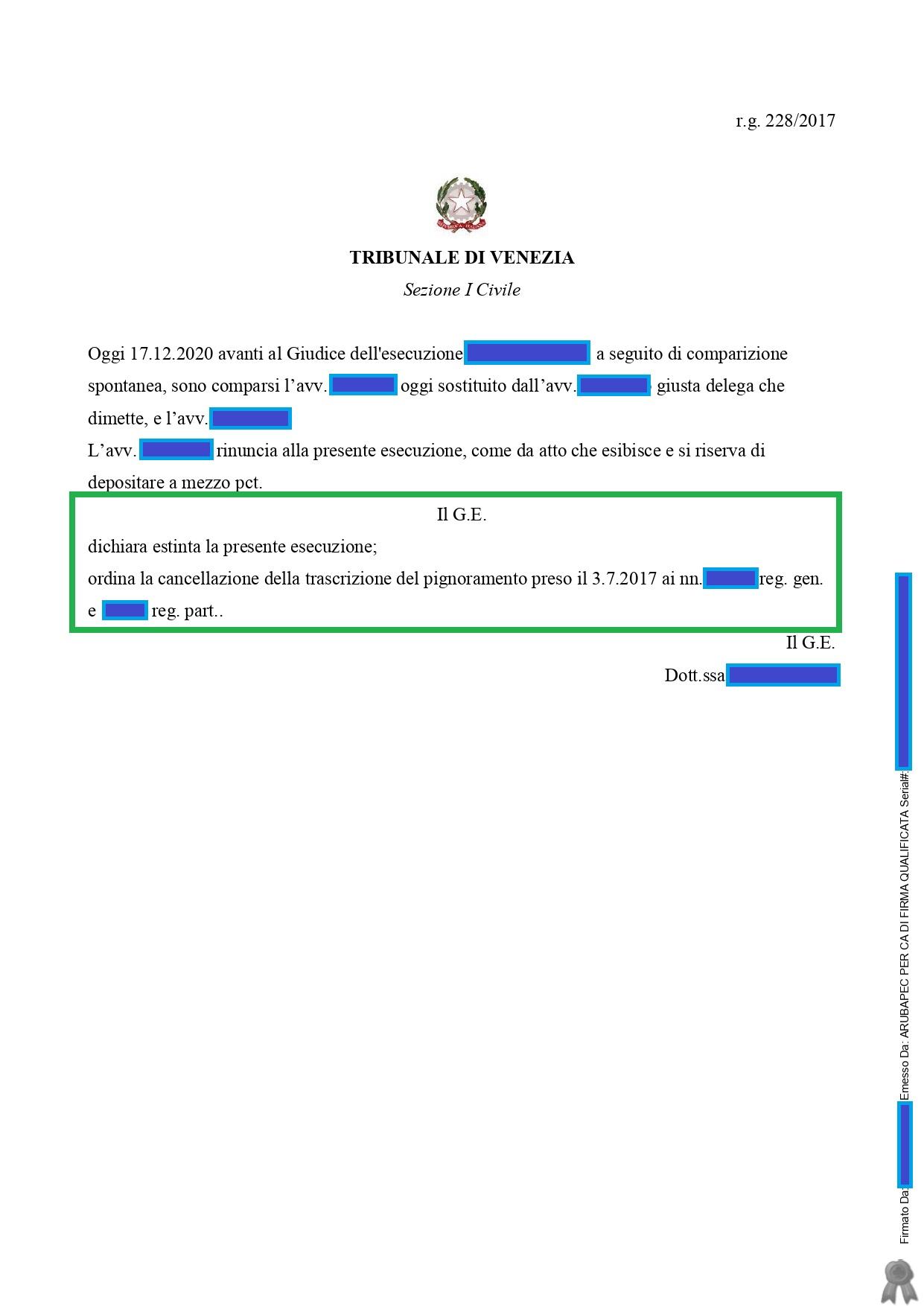 Provvedimento di Estinzione Borsan_page-0001