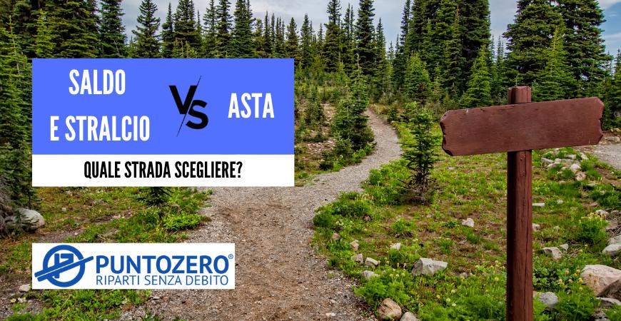 SALDO E STRALCIO VS ASTA