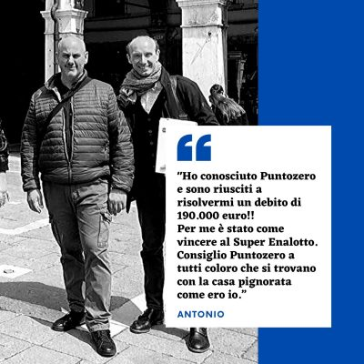 Post - Puntozero - Aprile 2020 - Antonio